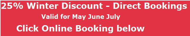 Eastbury Cottage 25% discount button