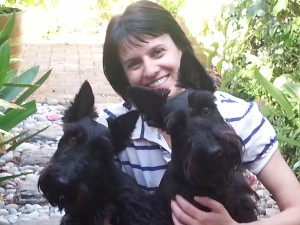 Eastbury Cottage furry Scottie dog guests
