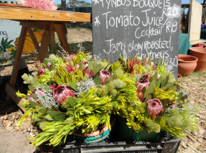 Fynbos at Hermanus Market