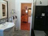 Rose Room Bathroom at Eastbury Cottage