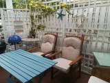 Rose Room at Eastbury Cottage with private enclosed patio