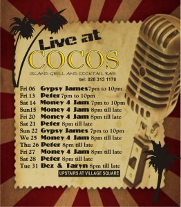 program for Cocos in Hermanus