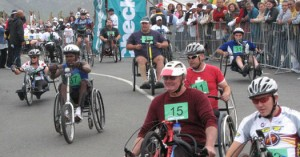 wheels and runners race
