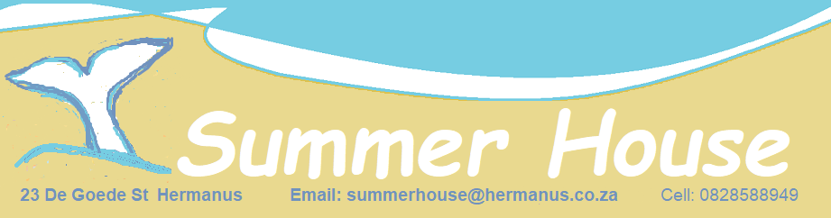 Contact details and logo for Summer House